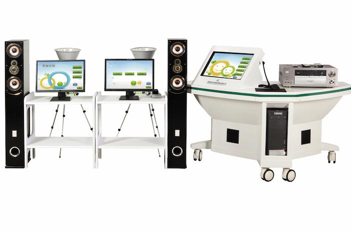 视听音乐统合训练系统(三个屏系统)
